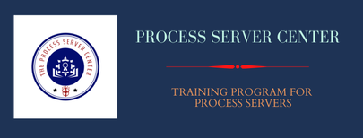 Process server Center Work Screening Test and Training