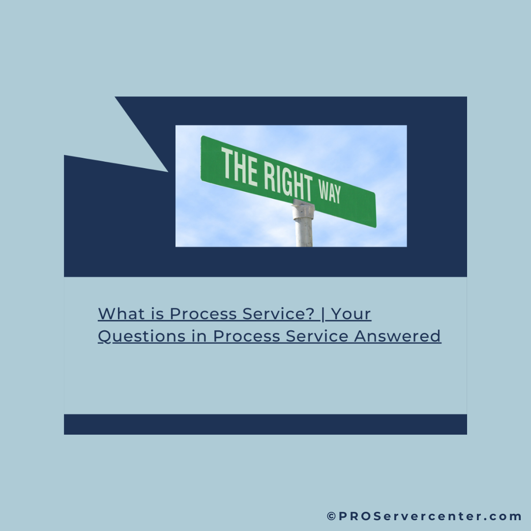 What is Process Service?